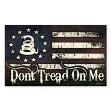 DTOM - Snake Flag Decal