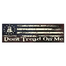 DTOM - Snake Flag Bumper Sticker