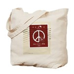 """Week 32 """"52 Weeks of Peace"""" Tote Bag"""