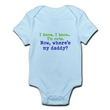 Funny Military homecoming Infant Bodysuit