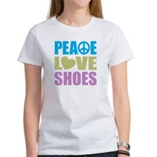 Peace Love Shoes Tee