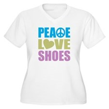 Peace Love Shoes T-Shirt