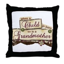 When a child Throw Pillow