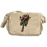 Street Breakdancing Messenger Bag