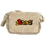 I Love Dance Messenger Bag