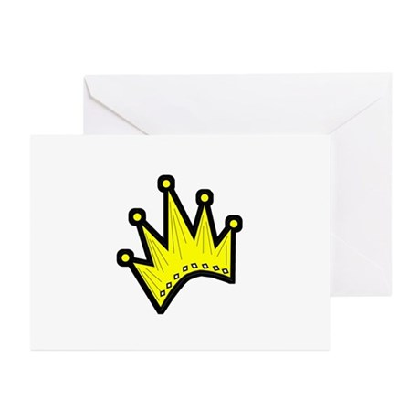 Gold Crown Greeting Cards (Pk of 10)