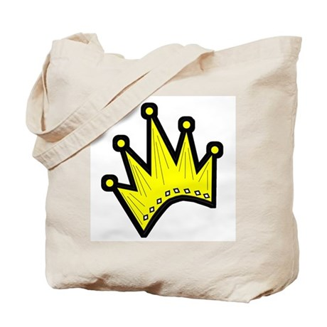 Gold Crown Tote Bag