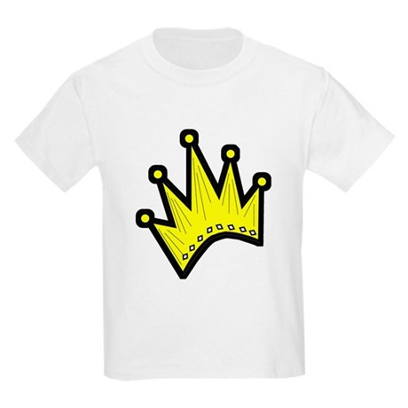 Gold Crown Kids T-Shirt
