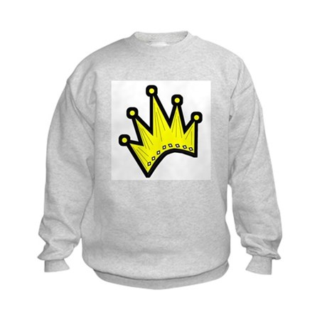 Gold Crown Kids Sweatshirt