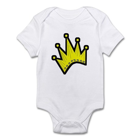 Gold Crown Infant Creeper