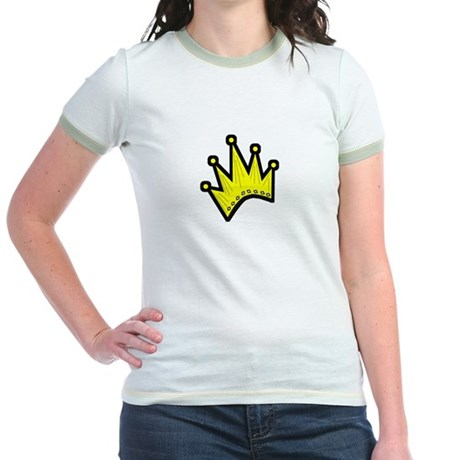 Gold Crown Jr. Ringer T-Shirt