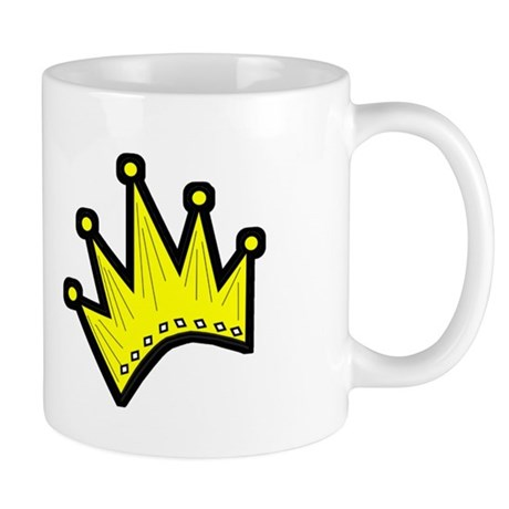 Gold Crown Mug