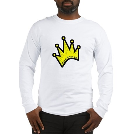 Gold Crown Long Sleeve T-Shirt