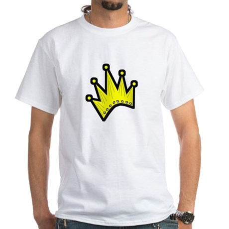 Gold Crown White T-Shirt