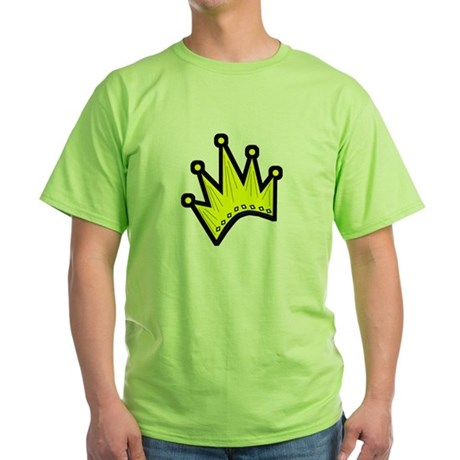 Gold Crown Green T-Shirt