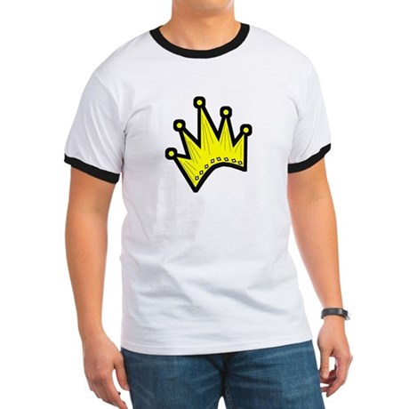 Gold Crown Ringer T