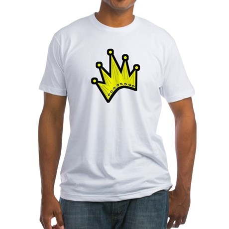 Gold Crown Fitted T-Shirt