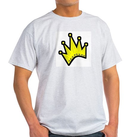 Gold Crown Ash Grey T-Shirt