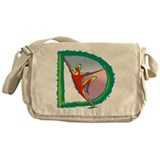 D For Dance Messenger Bag