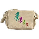 Belly Dancing Messenger Bag