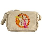Graceful Dancers Messenger Bag
