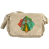 Lovely Dancer Messenger Bag