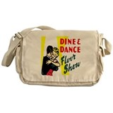 Dine and Dance Messenger Bag