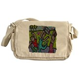 Street Dancing Messenger Bag