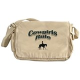 Cowgirls Rule Messenger Bag