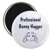 Bunny Hugger Magnet