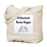 Bunny Hugger Tote Bag