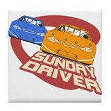 Sunday Driver II Tile Coaster