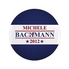 "Michele Bachmann 2012 3.5"" Button"