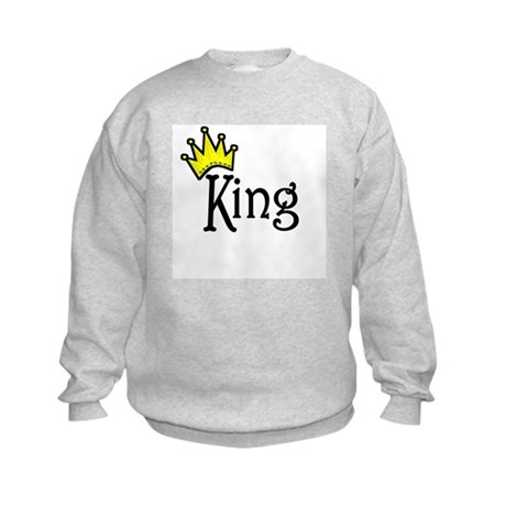 King Kids Sweatshirt