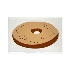 Bagel Rectangle Magnet (100 pack)