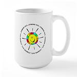 Coming Out Circle Large Mug