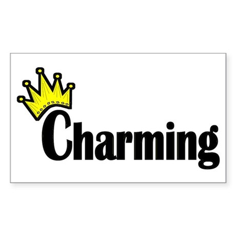 Charming Rectangle Sticker