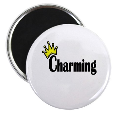"Charming 2.25"" Magnet (10 pack)"