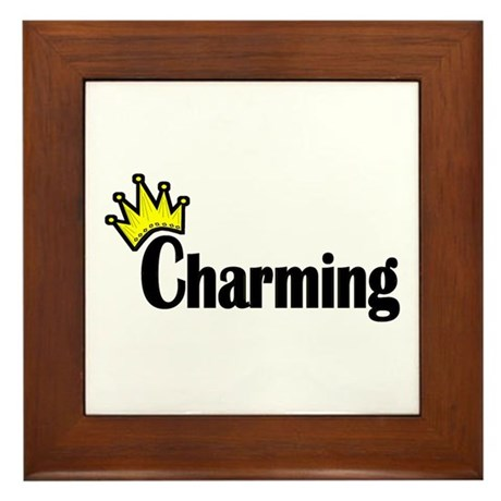Charming Framed Tile