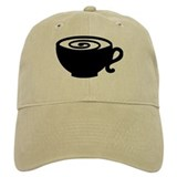 Coffee cup Baseball Cap