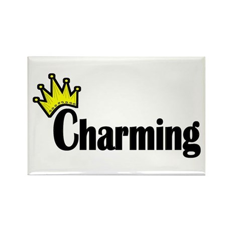 Charming Rectangle Magnet