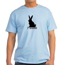 I Love Bunnies T-Shirt