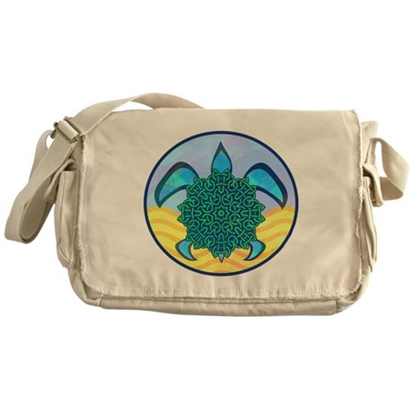 Knot Turtle Messenger Bag