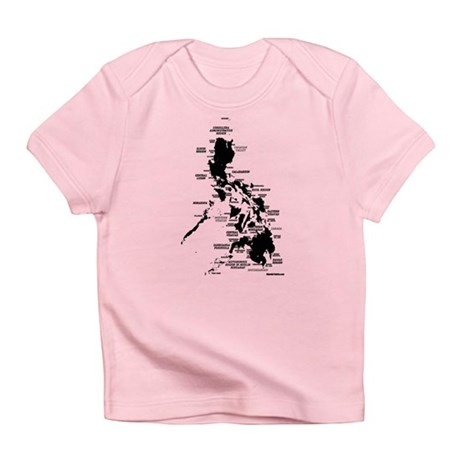 Philippines Rough Map Infant T-Shirt