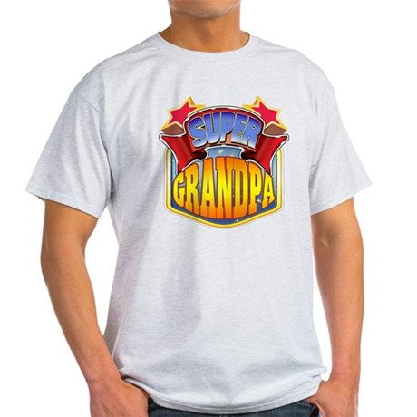 Super Grandpa Light T-Shirt