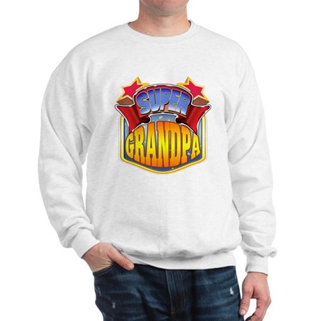 Super Grandpa Sweatshirt