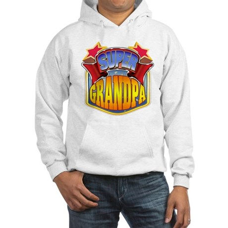Super Grandpa Hooded Sweatshirt