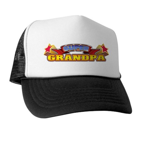 Super Grandpa Trucker Hat
