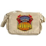 Super Grandpa Messenger Bag