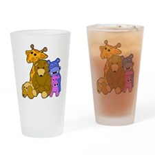 Stuffed Animals Drinking Glass